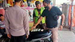 Gelar Patroli Kring Reskrim Polsek Lelea Parkiran Di Toko Baju Desa Lelea