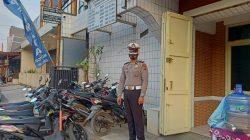 Anggota Polsek Jatibarang Giat Pam Kegiatan Pam Gereja GPDI