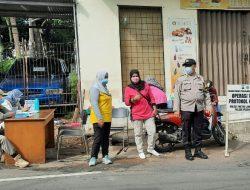 Tekan Penyebaran Covid – 19, Tiga Pilar Kelurahan Petukangan Selatan Gencarkan Operasi Yustisi Tertib Masker