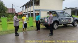 Patroli Sambang Bersama Warga Desa Anggota Polsek Arahan