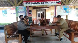Bhabinkamtibmas Polsek Terisi Silaturahmi Kamtibmas Bersama Perangkat Desa Cibereng