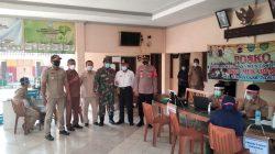 Kapolsek Tukdana Monitoring Giat Vaksinasi Lansia Desa Mekarsari