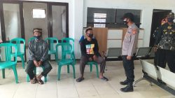 Anggota Polsek Arahan Silaturahmi Kamtibmas Bersama Warga Desa