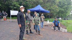 Dansektor 22 Citarum Harum, Kunjungan Ke Lokasi Penanganan Lahan Kritis di Kampung Tanggak 100