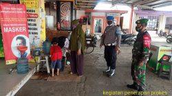 Anggota Polsek Jatibarang Gelar Ops Yustisi Di Tempat Pusat Perbelanjaan