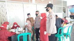 Giatkan Posko PPKM Mikro Di Tingkat Desa Langgengsari Anggota Polsek Lelea
