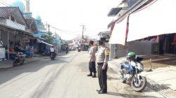 Antisipasi C-3 Anggota Polsek Lelea Giat Patroli Strong Point Wiralodra