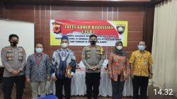 Polres Ciamis Gelar Forum Discussion Group Bersama Relawan Sosial Vaksinasi Covid -19