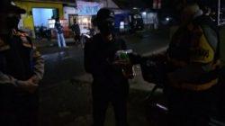 Patroli Gabungan Sekala Besar Disertai Dengan Penyaluran Bansos Dilakukan Jajaran Polsek Sindangkerta