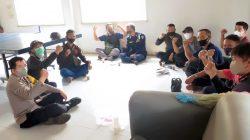 Polsek Batujajar Lakukan Pembinaan dan Pengarahan Anggota Security