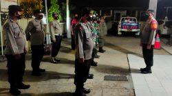 Kapolsek Terisi Pimpin Langsung Giat Apel Kesiapan Pelaksanaan Patroli Gabungan