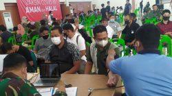 Panitia Satgas Pengendalian Covid -19 Aceh Gelar Serbuan Vaksinasi Di Convention Hall Banda Aceh