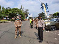 Polsek Pangandaran Giat Operasi Yustisi di Kawasan Bundaran Ikan Marlin