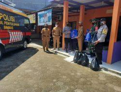 Program Panci Berkah, Polres Ciamis Salurkan Bantuan Kepada Warga Terdampak Covid -19