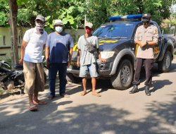 Kegiatan Patroli Sambang Anggota Polsek Arahan Di Desa Cidempet