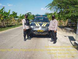 Kegiatan Anggota Polsek Terisi Patroli Strong Point Wiralodra