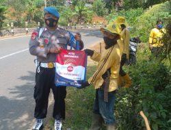 Polres Ciamis Salurkan Bantuan Kepada Masyarakat Terdampak Covid-19