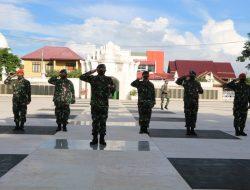 Lanud SIM Laksanakan Ziarah Rombongan Dalam Rangka Memperingati Hari Bakti TNI AU Ke-74