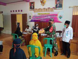 Camat Cisaga Monitoring Pendistribusian BLT DD di Desa Karyamulya