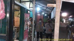 Anggota Polsek Terisi Giat Patroli Himbauan Pelaksanaan PPKM Level 03