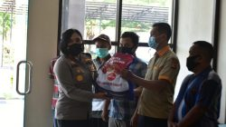 Pegawai Honorer di Lingkungan Polres Banjar Menerima Bansos