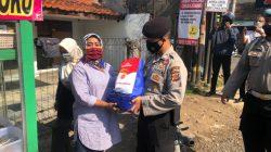 Sesuai Intruksi Kapolri, Polres Cimahi, TNI dan Tokoh Masyarakat Gelar Patroli Serta Bakti Sosial Dalam Rangka PPKM level 4