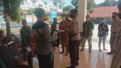 Brimob Jabar Lakukan Patroli Pencegahan Penyebaran Covid-19 Di Cirebon