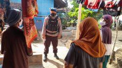 Brimob Jabar Sambang Desa Tangguh Ajak Masyarakat Tingkatkan Pernerapan Prokes Di Tengah Covid-19 yang semakin Meningkat