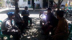 Bhabinkamtibmas Polsek Sukagumiwang Silaturahmi Bersama Warga Desa Jengkok