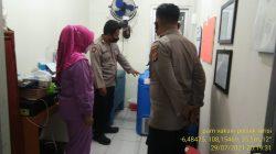 Giat Pengamanan Vaksin Di Gedung UPTD Puskesmas Anggota Polsek Terisi