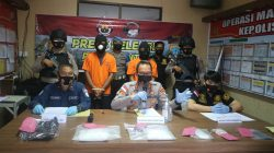 Polres Bintan Berhasil Mengejar Pemilik 2 Kilo Sabu Hingga Ke Sumbawa