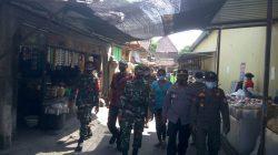 Kunjungi Pasar, Polres Klaten dan Petugas Gabungan Himbau Taati Prokes