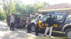 Giat Patroli Sambang Anggota Polsek Arahan Bersama Warga Masyarakat Desa Cidempet