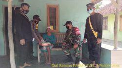 Giat Penyaluran Bantuan Sosial Tunai (BST) Anggota Polsek Terisi Di Desa Tempel