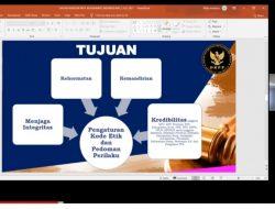 Sesion ke 3, MIPI Gelar Webinar Tentang Dinamika Penegakan Etika bagi Penyelenggara Pemilu