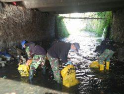 Sektor 22 Citarum Harum Sub 13, Lakukan Peliharaaan Sungai Citeupus