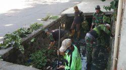 Serka Wahyu, Pimpin Pembersihan Di Sungai Cilumus