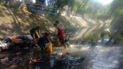 Sungai Cikapundung, Di Wilayah Sub 14 Sektor 22 Kembali di Bersihkan