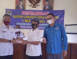 Pemdes Tanjungjaya Cisaga Salurkan Bantuan BLT DD Kepada 60 KPM