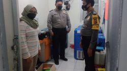 Gedung UPTD Puskesmas Anggota Polsek Terisi Giat Pengamanan Vaksin