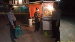 Anggota Polsek Terisi Patroli Himbauan Prokes Dalam Rangka PPKM Level 3