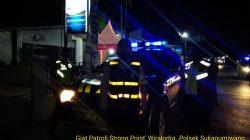 Antisipasi C-3 Anggota Polsek Sukagumiwang Melaksanakan Patroli Strong Point Wiralodra