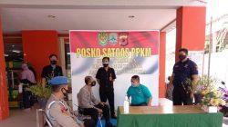 Polisi Cek Pos PPKM Darurat Level 4 Dan Ajak Warga Disiplin Protokol Kesehatan