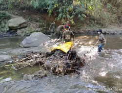 Sektor 22 Citarum Harum Sub 8, Rutin Bersihkan Sungai Cikapundung