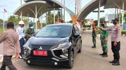 Dalam Rangka Dukung PPKM Satpom Lanud SIM Gelar Gaktib
