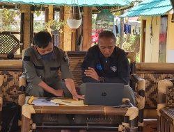 Dansektor 22 Citarum Harum, Zoom Meeting Terkait Pengelolaan dan Perawatan Sungai di Kota Bandung