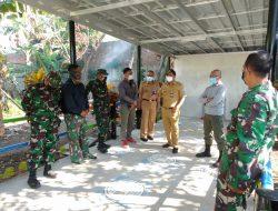 Dansektor 22 Citarum Harum, Kol. Inf. Eppy Gustiawan Monitoring Pembangunan IPAl Komunal Dan TPS3R