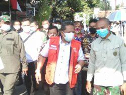 Dansektor 22 Citarum Harum, Dampingi Wakil Walikota Bandung, Tinjau Banjir di Kelurahan Cipedes Kecamatan Sukajadi