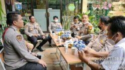 Tim Asistensi PMJ Kunjungi Gerai Vaksin Merdeka Gerai 546 Polsek Kebayoran Lama