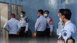 Pastikan Kondisi Bersih Aman dan Kondusif, Ka.Rutan Kontrol Blok Hunian Warga Binaan